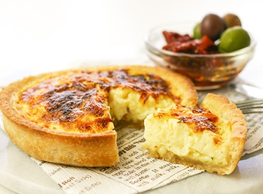 3種のチーズのキッシュ